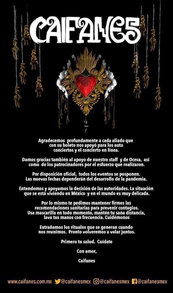 Caifanes_Comunicado