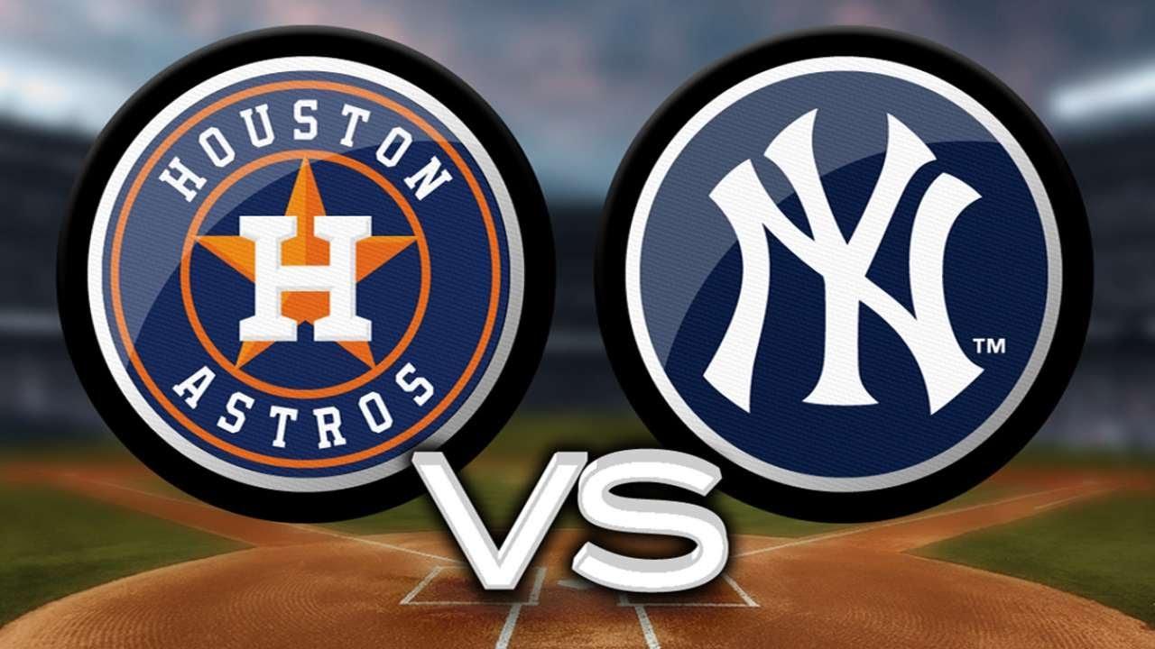 astros y Yankees