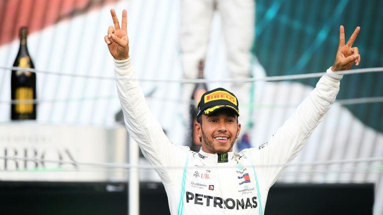 hamilto F1