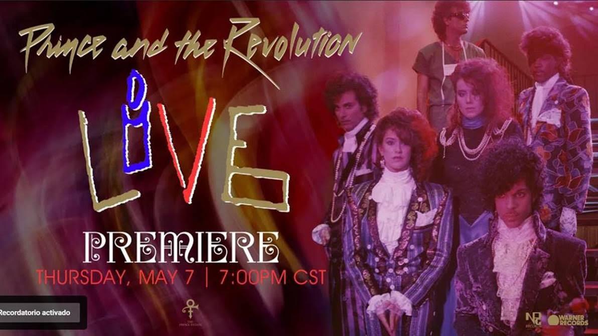 Prince and the Revolution: Live esta por estrenarse