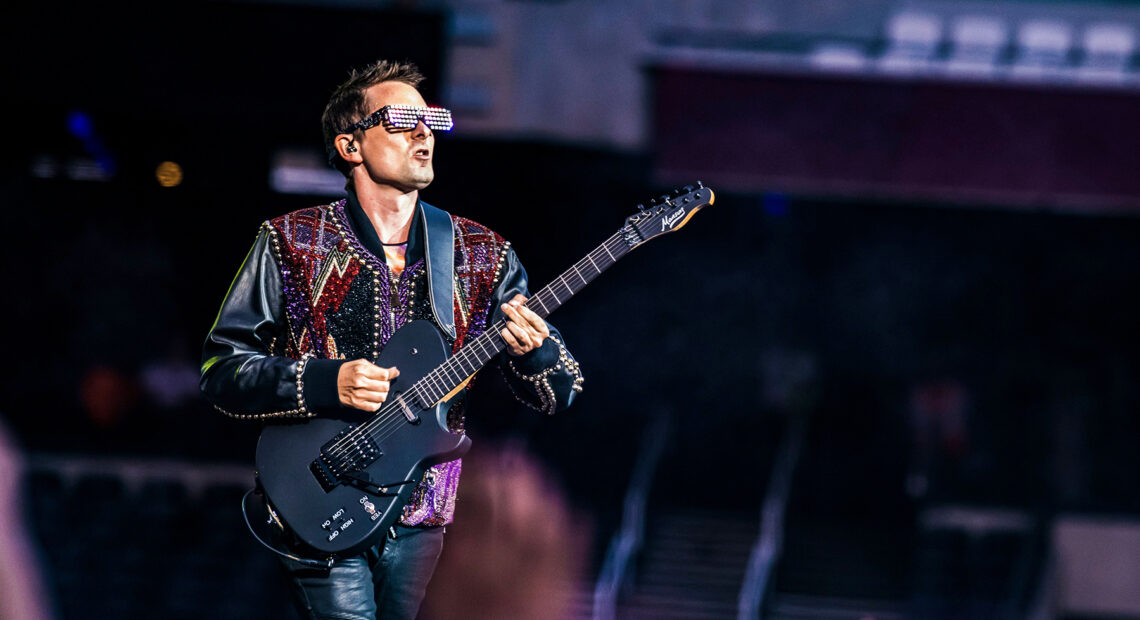 Muse's 'Simulation Theory World Tour' at London Stadium, London, UK - 01 Jun 2019