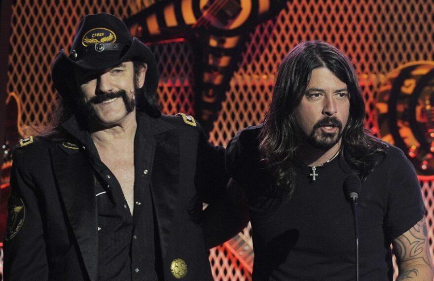 Dave Grohl, Lemmy Kilmister