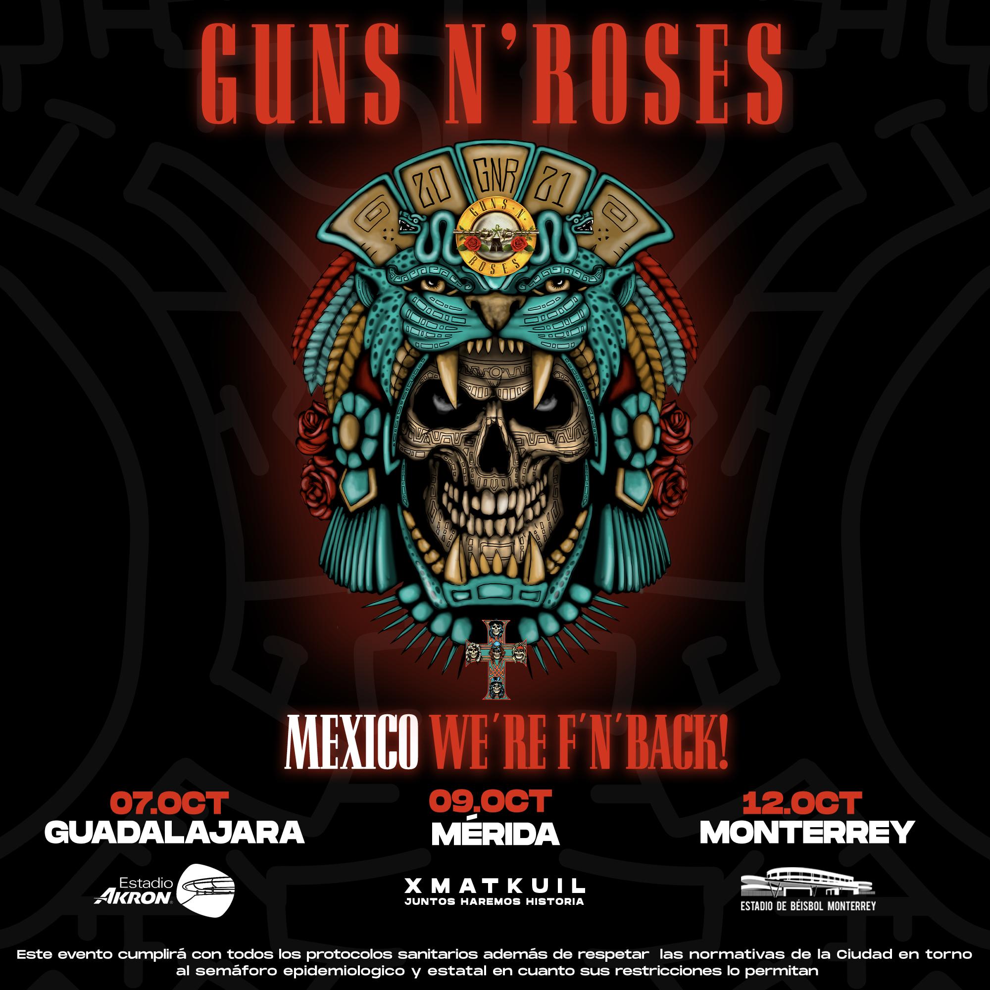 Guns N´ Roses en Guadalajara (Estadio Akron) - Grita Radio